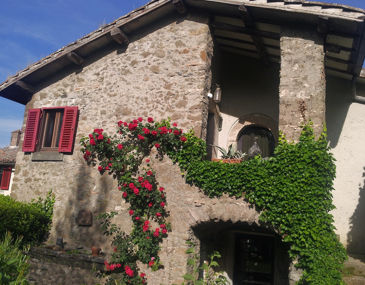 A country-house in Bracciano (Rome)