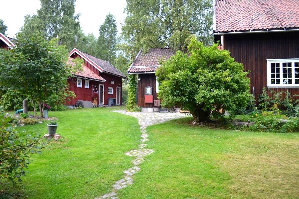 Room in traditional wooden house - Bø - Rumah