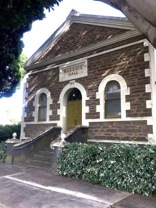 Angaston Masonic Lodge SAs Heritage - Angaston