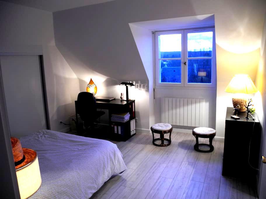 Chambre bleue - L'Étang-la-Ville - Pousada