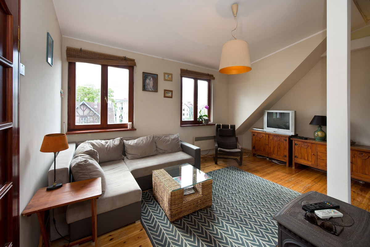 Charming apartment in Gdańsk