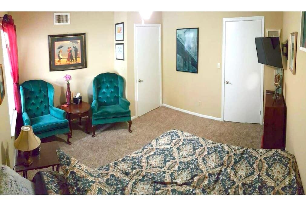 Private Queen Room and Bath - Tallahassee - Appartamento