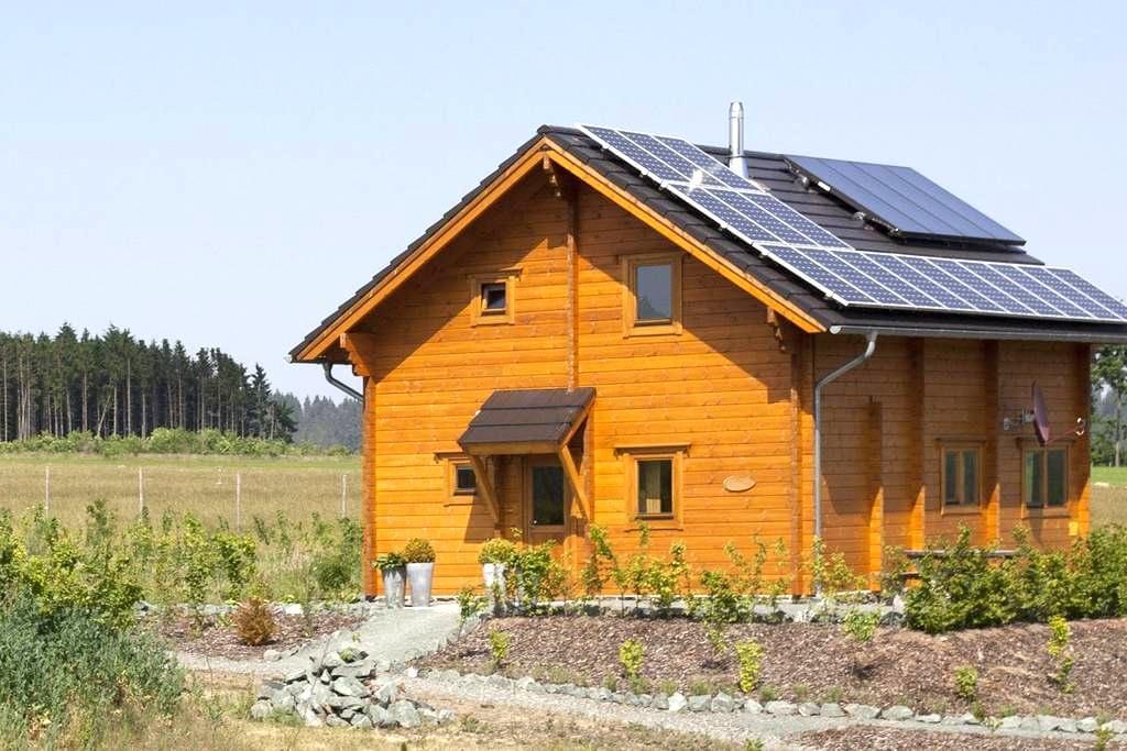 Luxueus en sfeervol blokhuis (wifi, sauna) - Medebach - Chalet