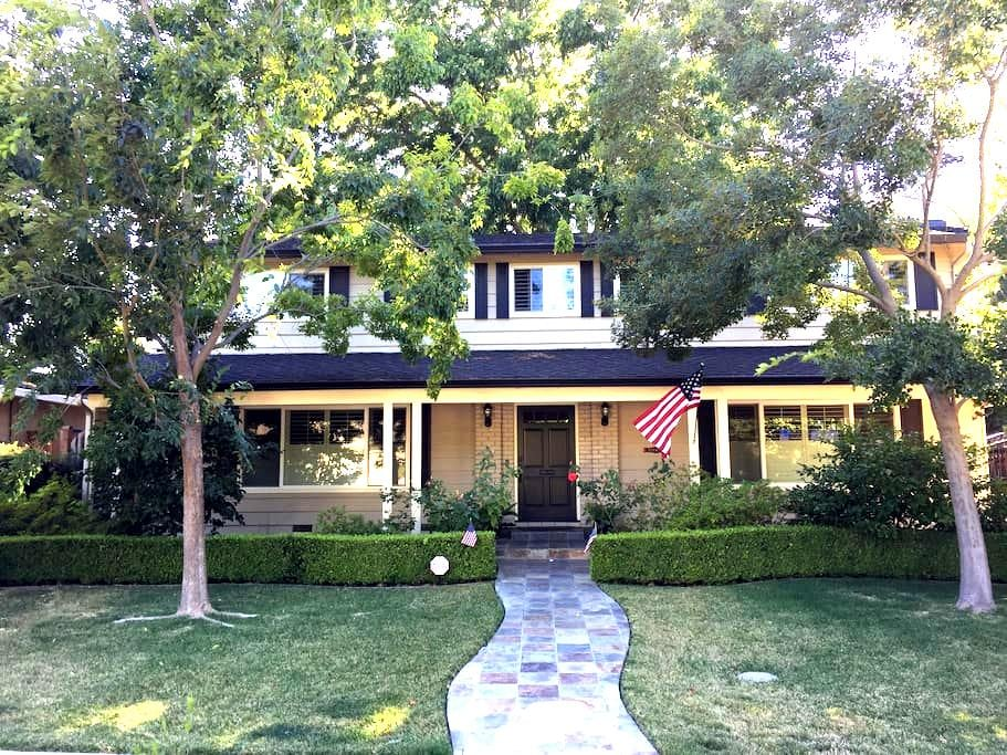Relaxing, Private Room in Willow Glen Home - San Jose - House