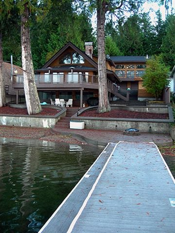 Luxury Lakeside Guest Home