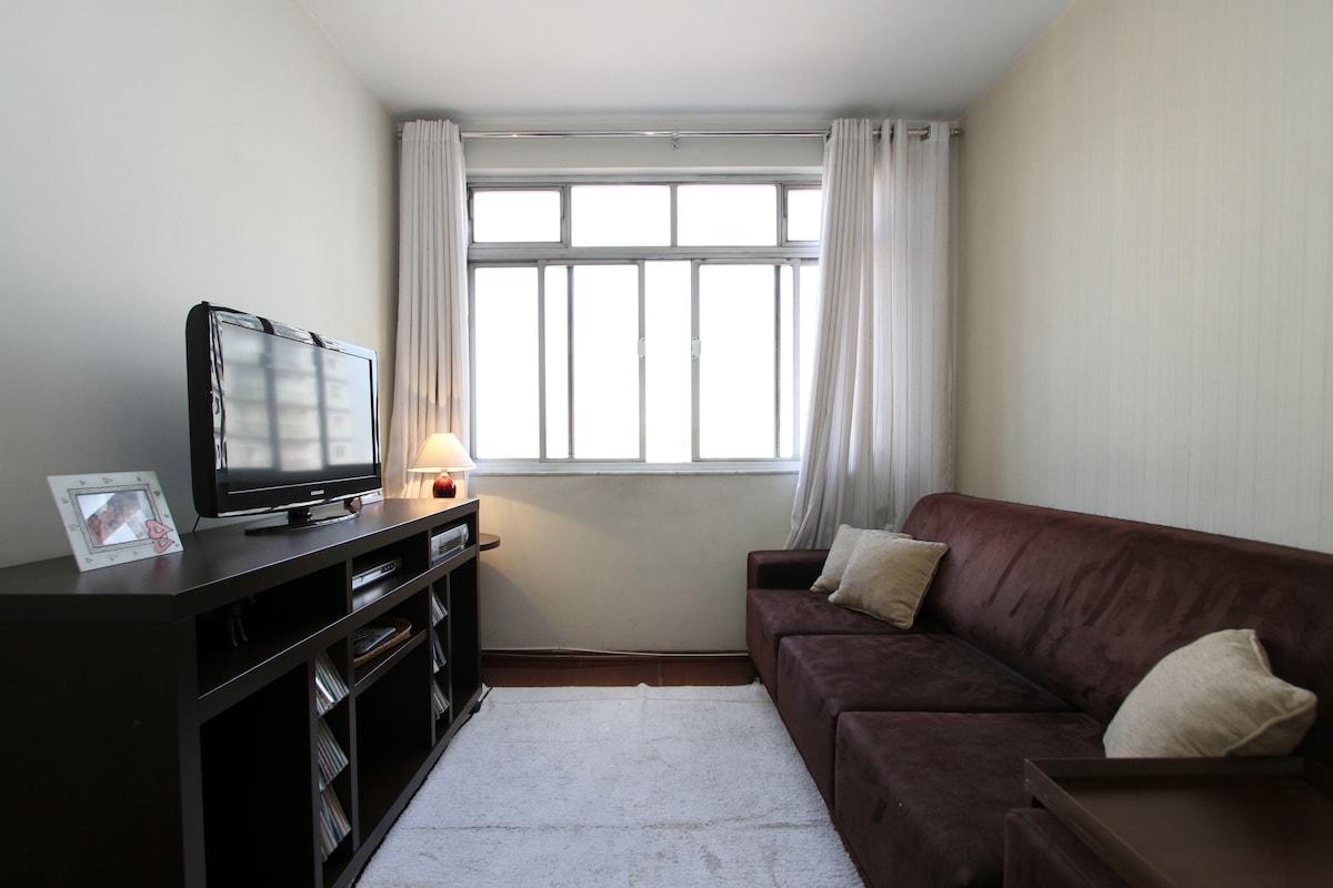 Your room near Metro Santana!