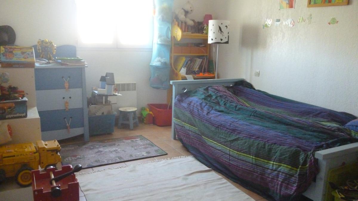 Chambre tout confort à Frontignan