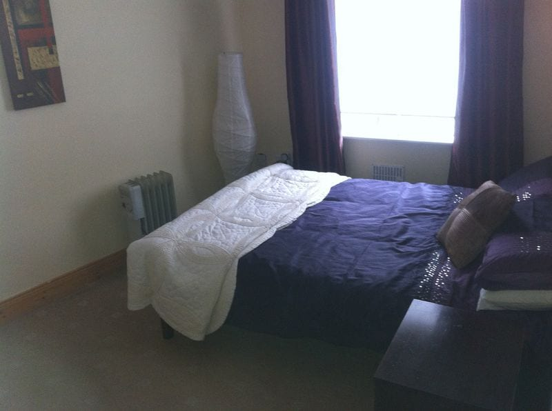 This was one of our Double Rooms. We have changed this one to a Twin Room with 2 Single Beds.