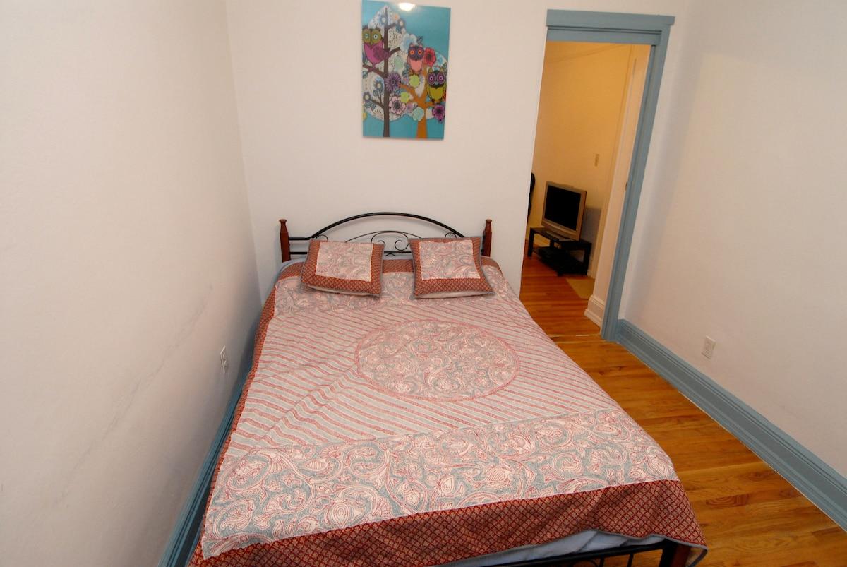 2 rooms; private entrance & bath!