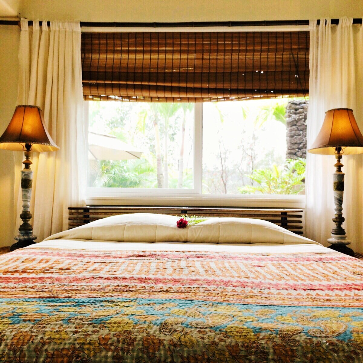 Roll around in luxurious linens