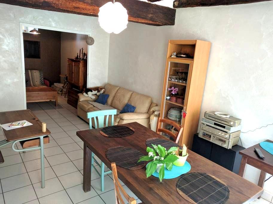 Logement vacanciers - Brissac-Quincé - House