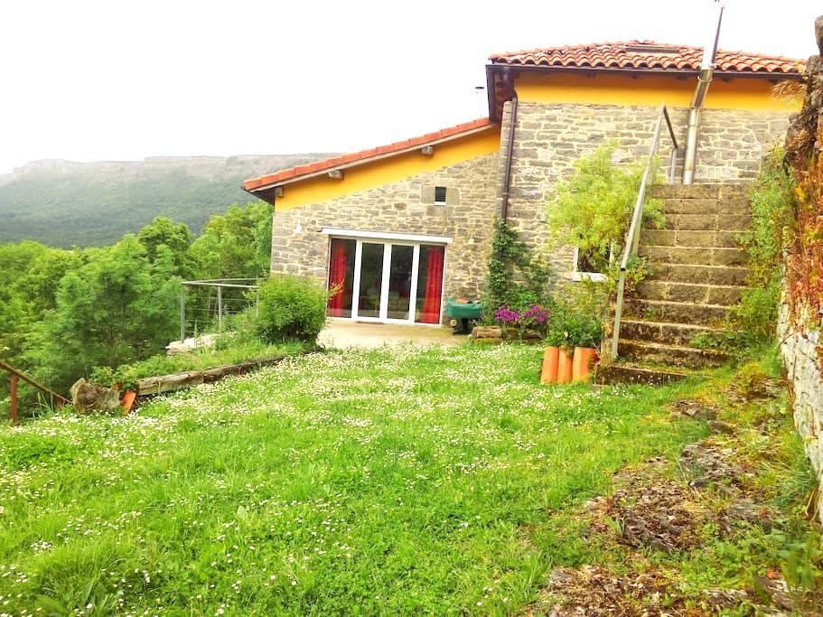 Casa de piedra: vistas, relax y entorno natural - Archua - Ev
