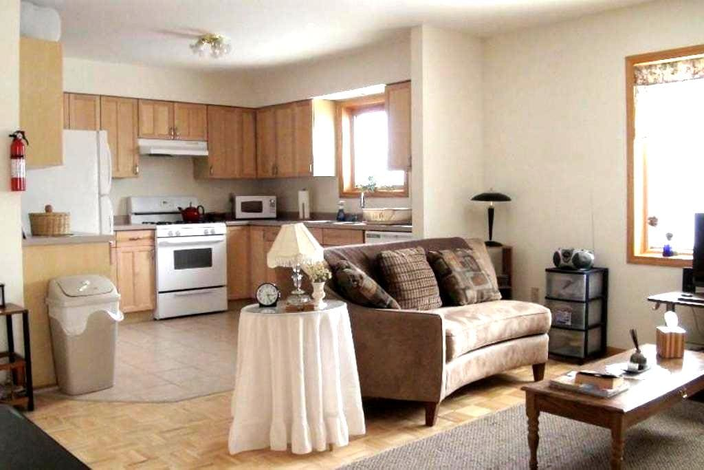 Nice 2bd apt close to Mich Tech - Houghton - Apartamento
