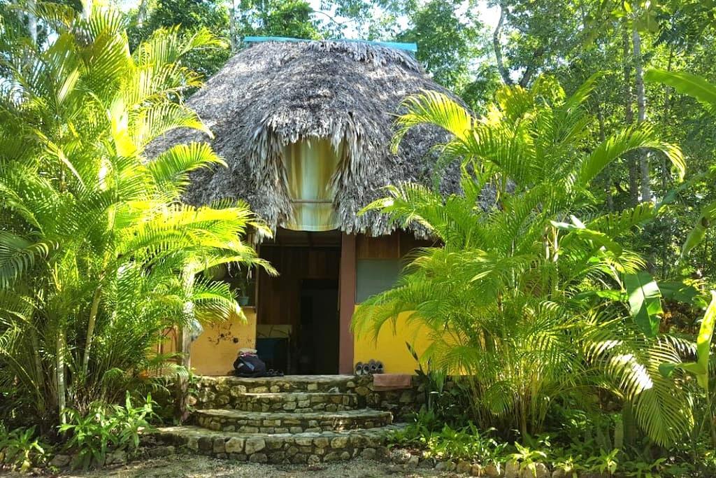 Room at El Remate, near Tikal - El Remate - Cabaña