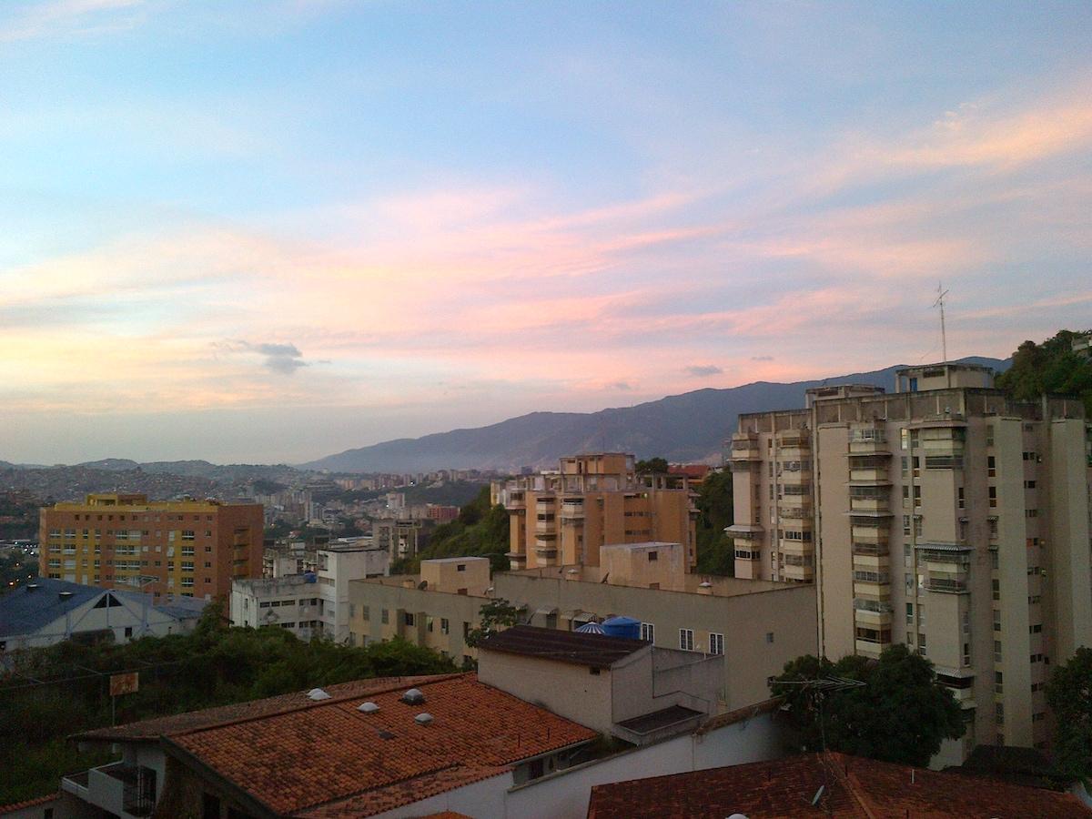 Vista de Caracas desde mi lugar