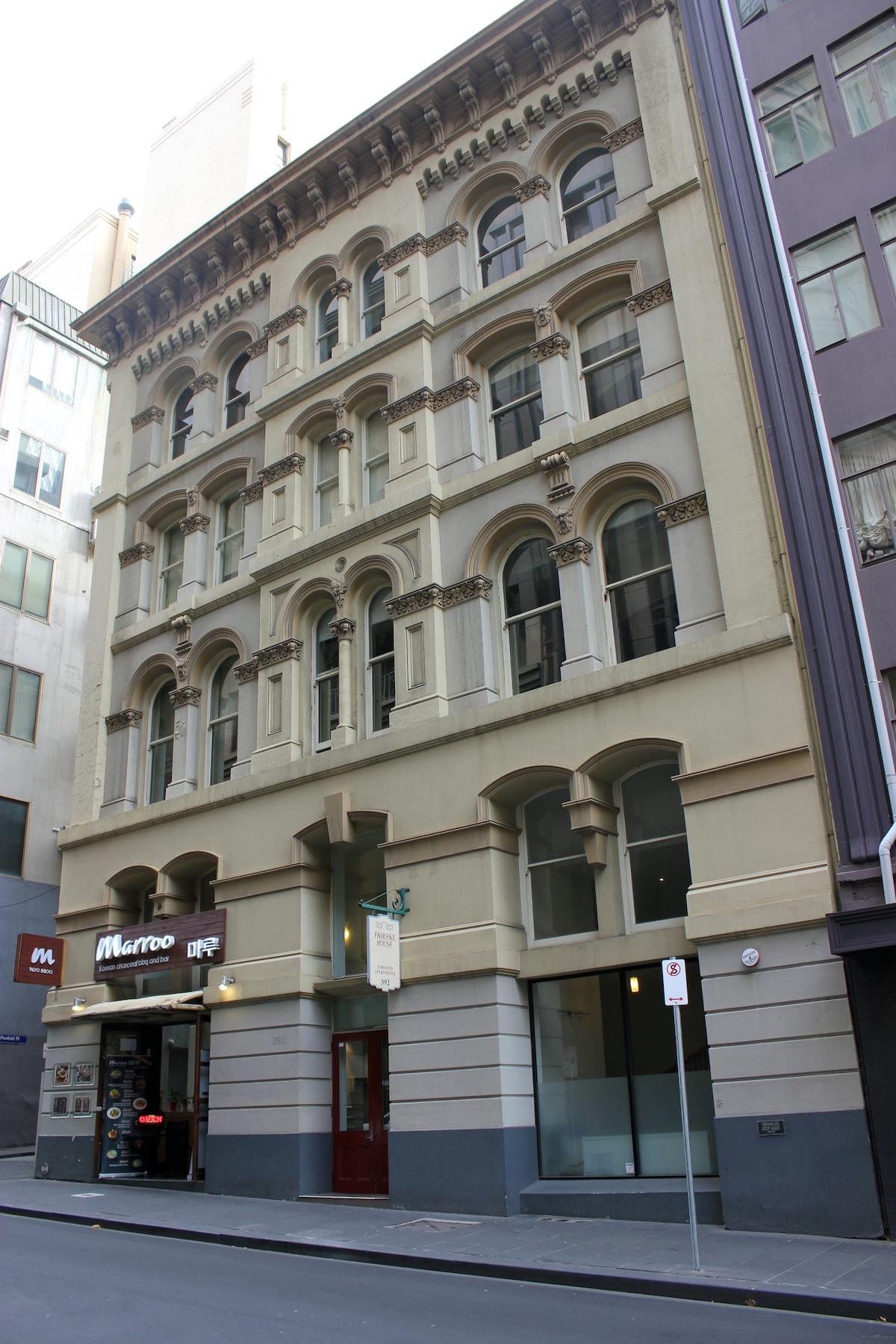 Melbourne CBD Apartment  Collins St