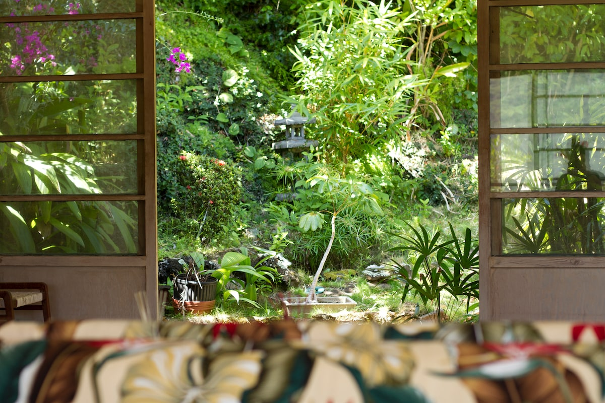 View of your private garden.