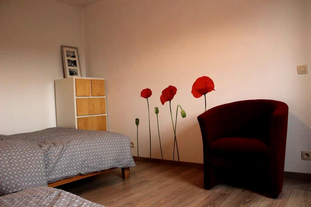 Gastenkamer in pastorijwoning - Jabbeke - House