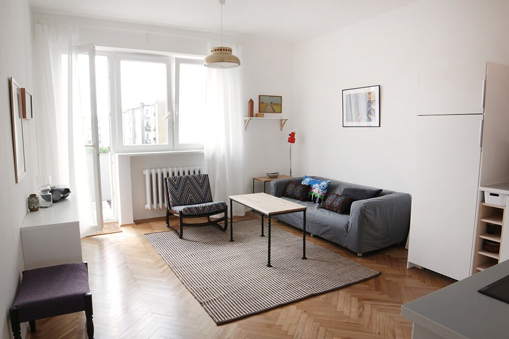 Słoneczny apartament  centrum Gdyni