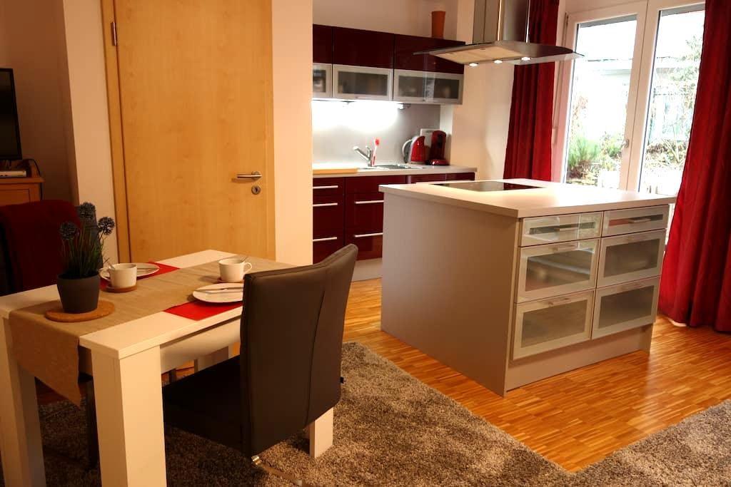 1-Zi Garten-App. Mainz, HBF nah - Mainz - Condominium
