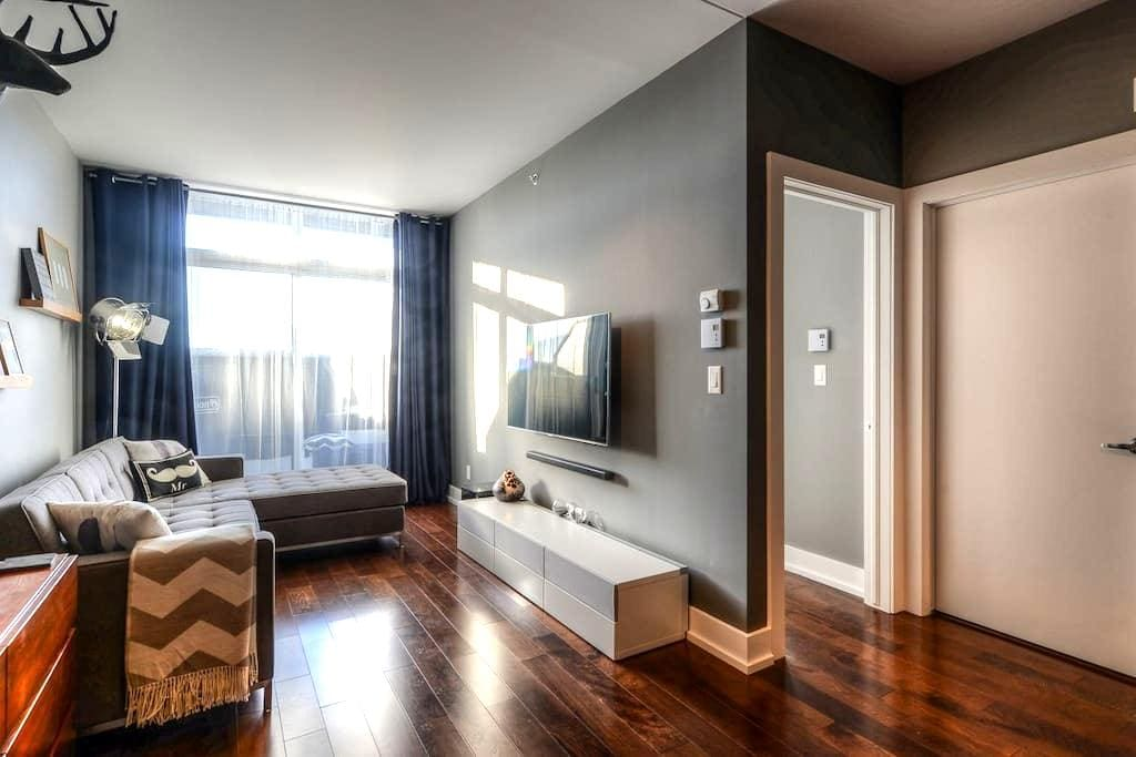 Beautiful condo + private terrace - Lachine - Társasház