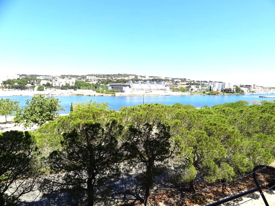 T3 climatisé avec vue sur l'étang de berre - Martigues