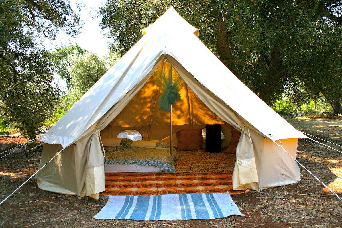 Glamping on Kauai...Polihale Beach