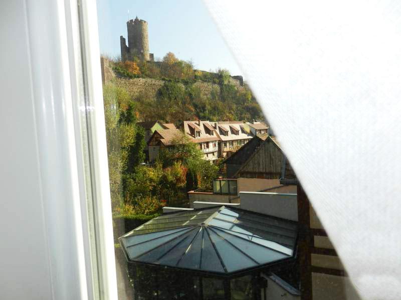 Chambre avec vue sur le château