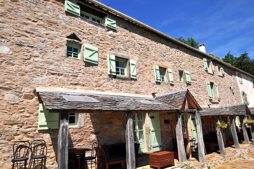 Le Sanglier - rural farmhouse gite (sleeps 6) - Riols - Apartamento
