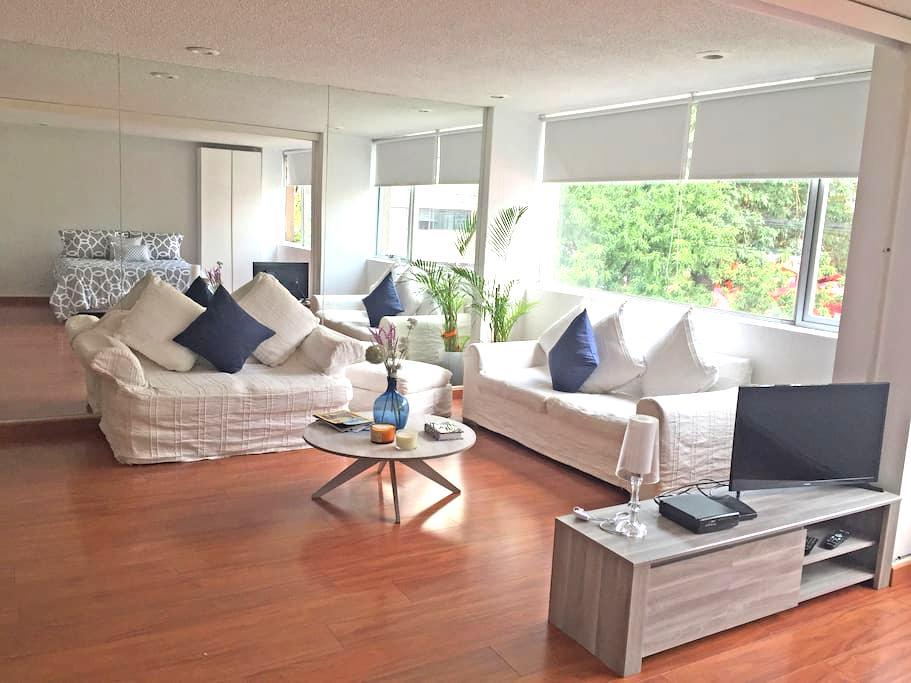 Cozy loft style apartment with a great location - Ciutat de Mèxic - Pis