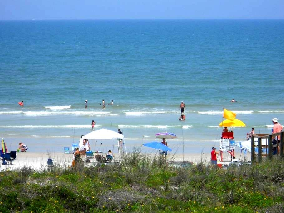 On the Beach - Private Balcony -  Oceanfront Pool - Saint Augustine