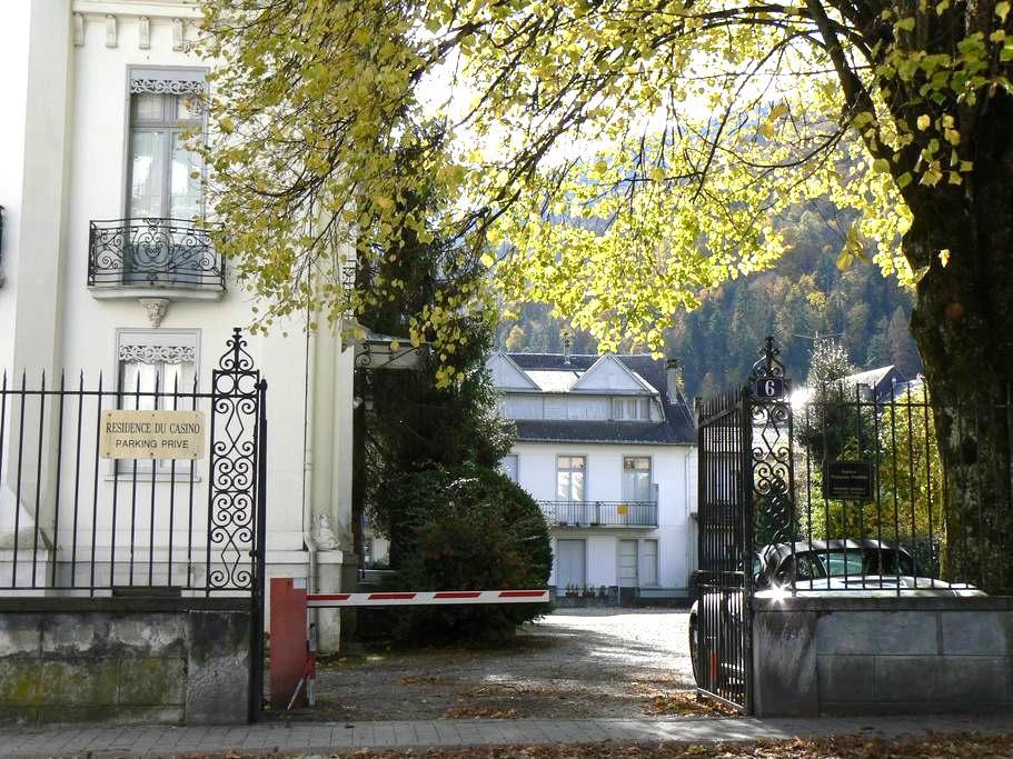 Studio 30sqm, mountain view, South - Bagnères-de-Luchon - Apartament