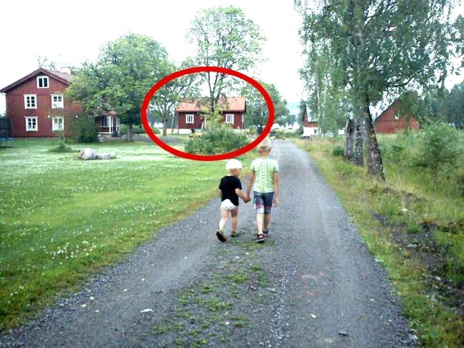 Drängstuga i de värmländska skogarn - Storfors S - Hus
