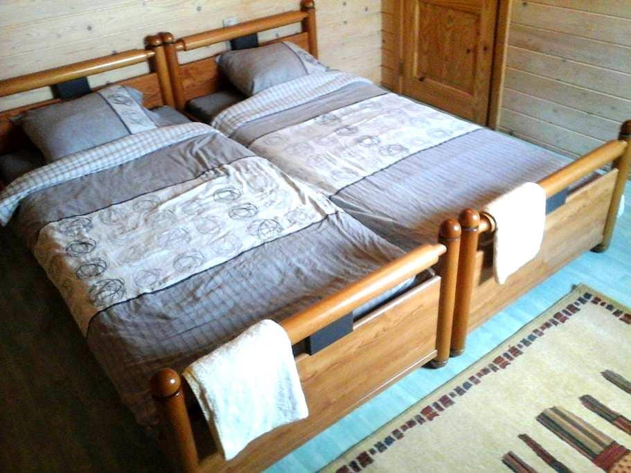 Private room, chambre privée - Bastogne - Ház