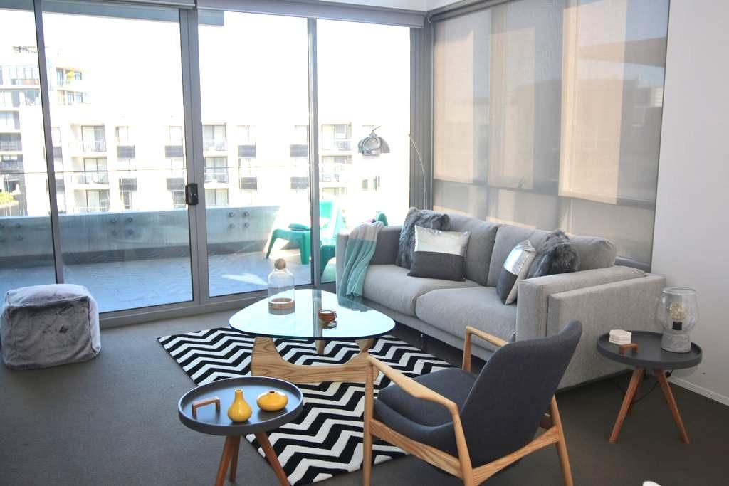 TopFloor@Barton - stylish, great location, treats! - Barton - Flat