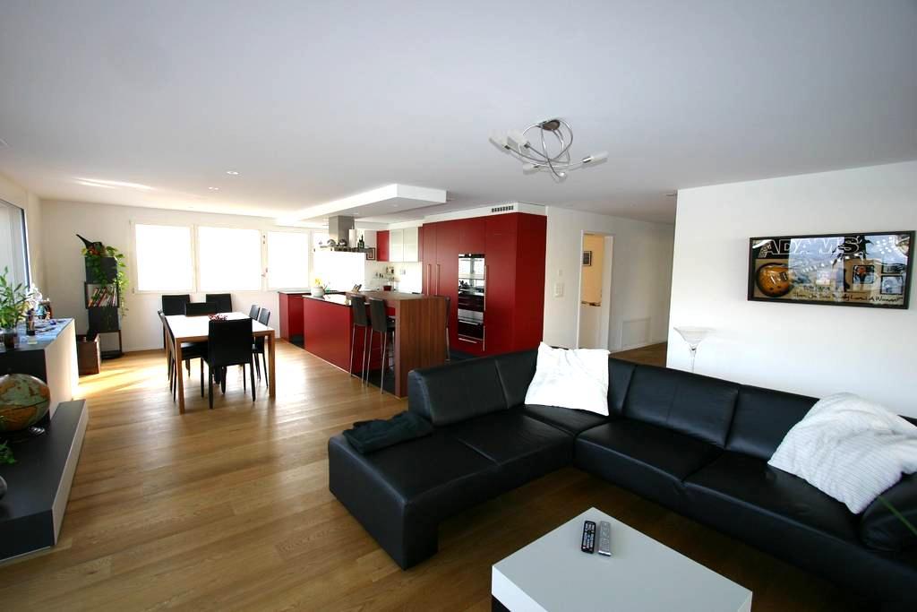 Modern & charming room with garden  - Muttenz - Apartemen