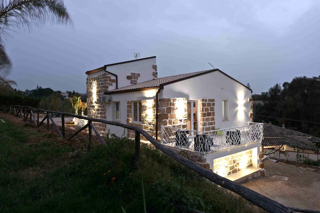 Appartamento 4 posti in villa a 100 m dal mare - Trappeto - Wohnung