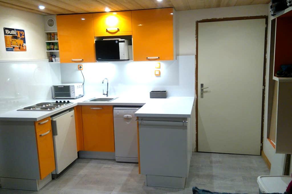 appartement sur le front de neige - Saint-Jean-d'Aulps - Apartment