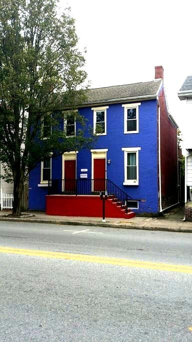 Great House in Downtown Gettysburg - Геттисберг - Дом