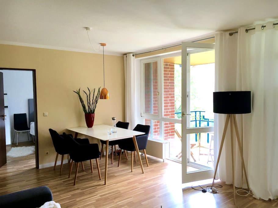 Moderne Wohnung im Zentrum von Wentorf - Wentorf bei Hamburg - Huoneisto