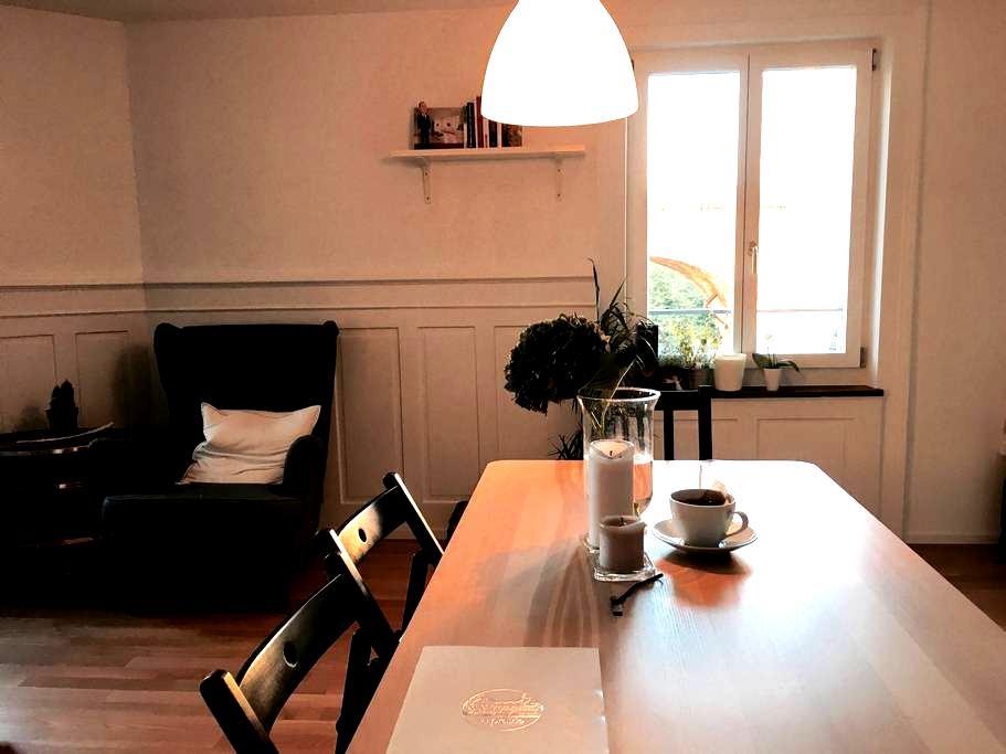 Modern spacious room in city hip neighborhood - Zürich - Flat