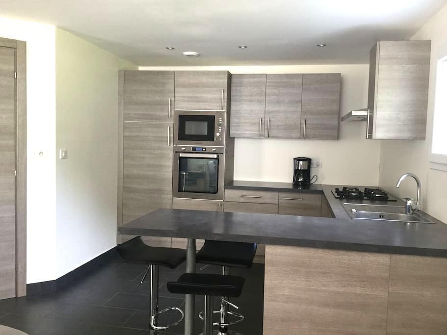 ❤️️Appartement T2  neuf 4*❤ - Grésy-sur-Aix - Apartment