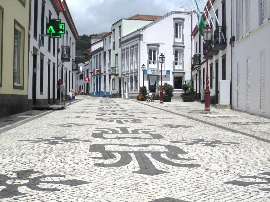 Center of the Village Povoação - Povoacao