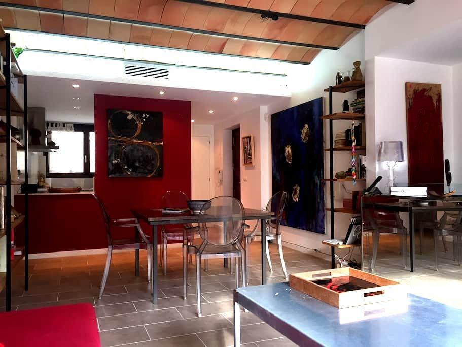 Apartamento en el Ampurdan en parque natural - Vilamaniscle - Huis