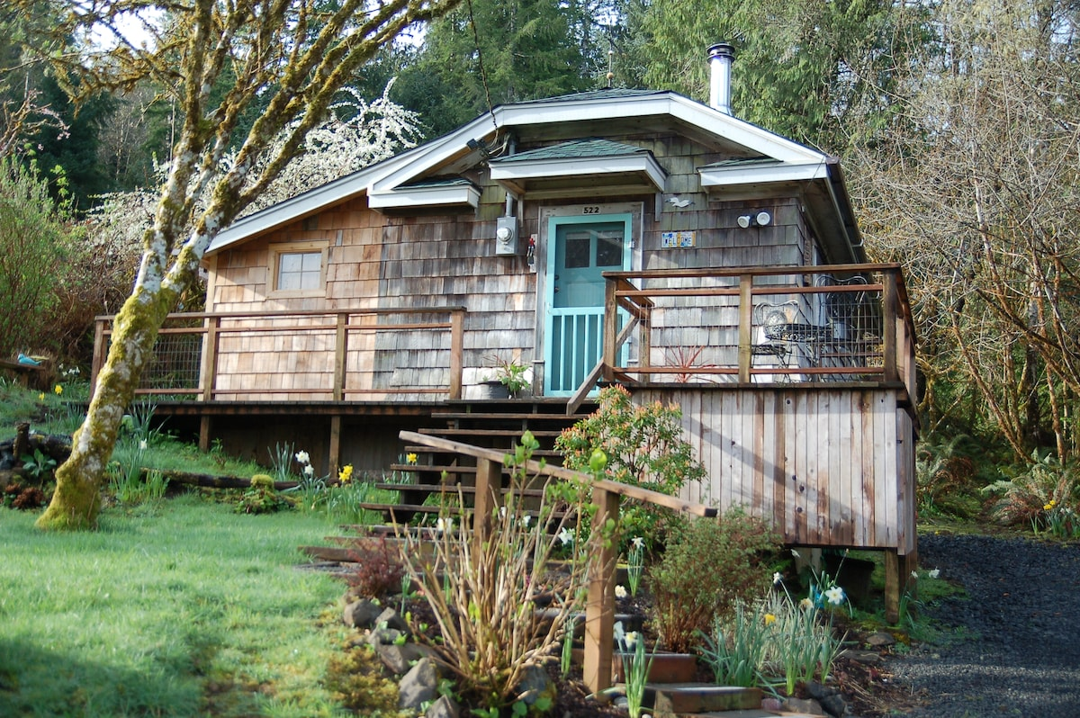 The Cabin At Willapa Bay   Cabins For Rent In South Bend, Washington,  United States