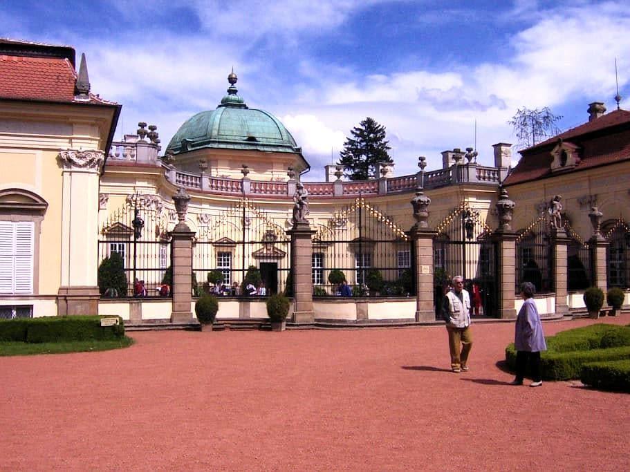 History between Prague and Vienna - Buchlovice