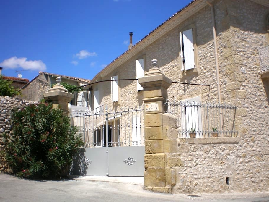 La maison de papé gite Terrasse - Combas - Apartament
