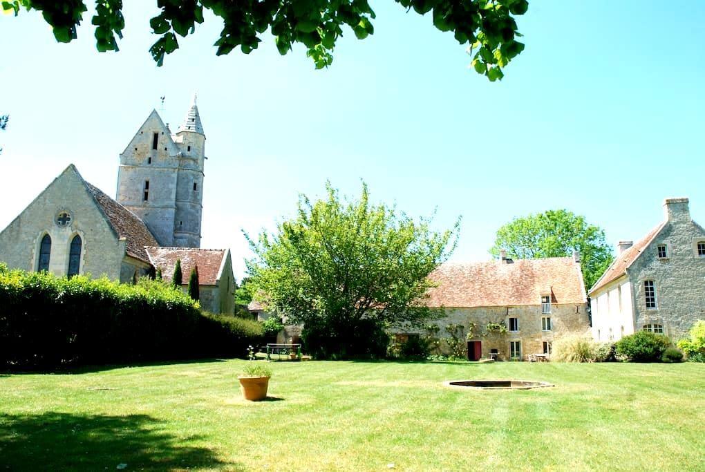 LargeManor+PrivatePool inNormandy - Olendon - Castle