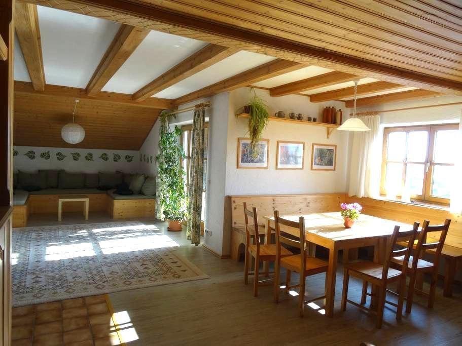 Auerberghaus #Ferienwohnung - Lechbruck am See - Lägenhet