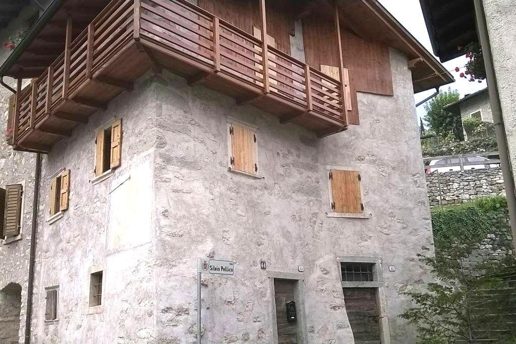 Accogliente casa in un borgo quieto - Pranzo - Casa